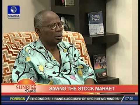 Abiodun Sopitan speaks on saving the stock market