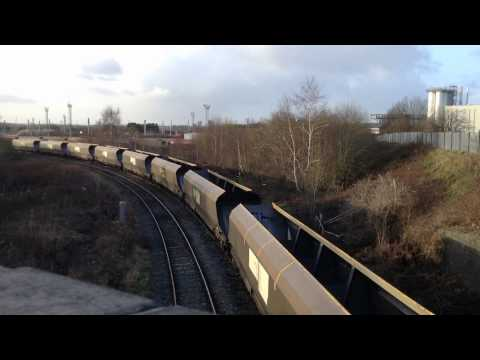 Saturday Freights - Warrington Bank Quay - 10th January 2015