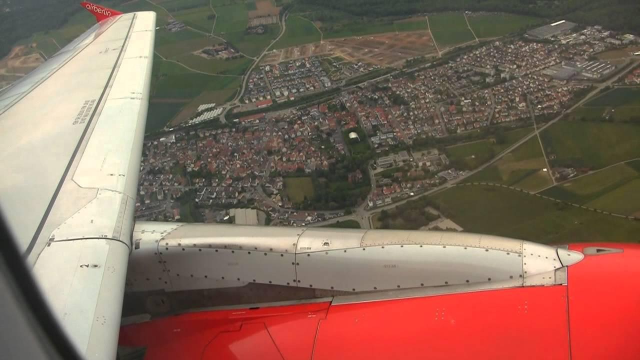Airberlin Flug Von Hamburg Nach Stuttgart Airbus A319 Part 4