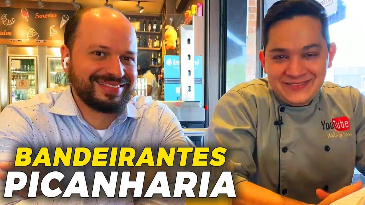 PEDIMOS O ALMOÇO DO BANDEIRANTES PICANHARIA | Ewerton Santana