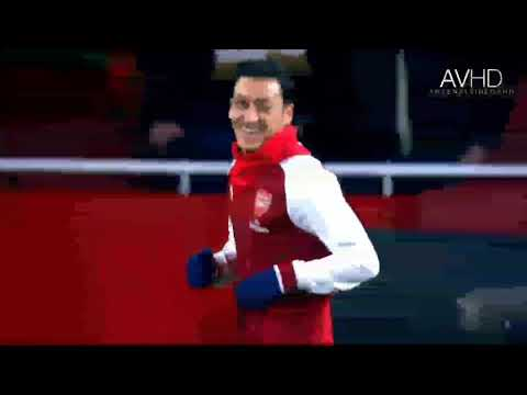 Give Me Freedom Give Me Fire Song (with Ozil Skills  And Goals)