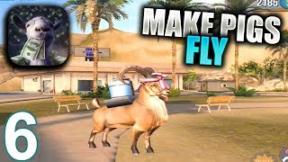 GOAT SIMULATOR PAYDAY Walkthrough Gameplay Part 6 - Make Pigs Fly & Drive in Saturday (iOS Android)