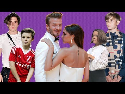David and Victoria Beckhams kids: Everything you need to know about them
