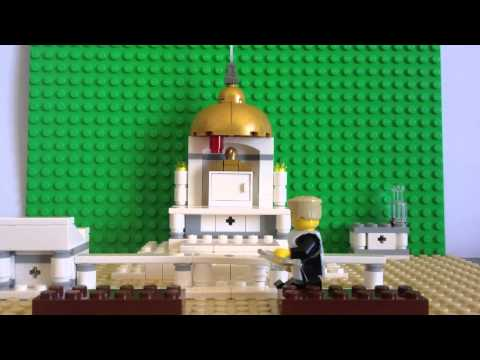 Preparation for Traditional Latin Mass LEGO