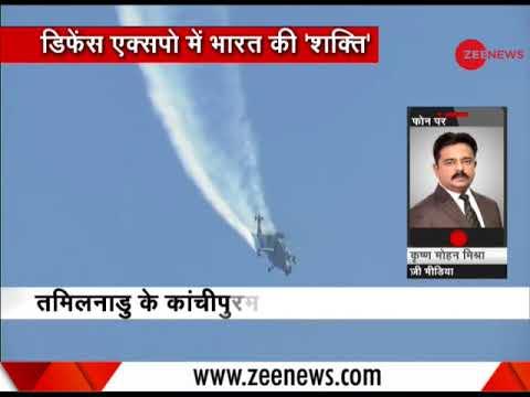 PM Modi in Tamil Nadu: Inaugurates Defence Expo 2018 in Thiruvidanthai