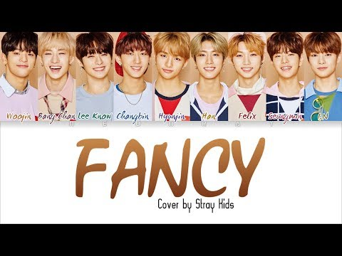 Stray Kids - 'FANCY' (Cover of TWICE) [Color Coded Han/Rom/Eng Lyrics]