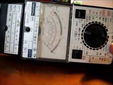 тестер мультиметр Ц4317М