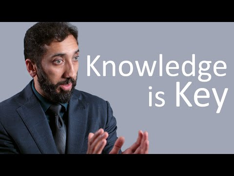 Knowledge is Key - Nouman Ali Khan - Malaysia Tour 2015