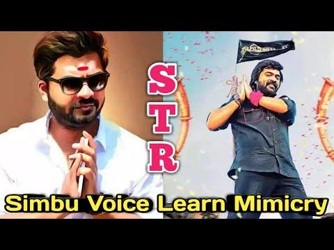 How to Mimicry STR Voice || Simbu voice Mimicry Tamil