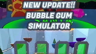 Roblox: *NEW CHRISTMAS UPDATE* LOOKING FOR SANTA CLAUS BUBBLE GUM SIMULATOR