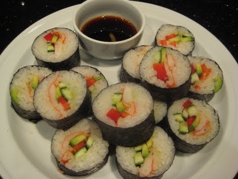 Generate Sushi - Made Easy - Healthy Recipe Snapshots
