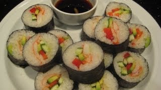 Sushi - Made Easy - Healthy Recipe