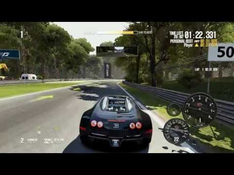 Need For Speed Shift 2 Unleashed - Bugatti Veyron 16.4 gameplay HD