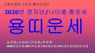 2020년 경자년 용띠운세/새해운세/신년운세/토정비결