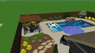 Layman Pool Project (With Public Utility Easement Adjustment)