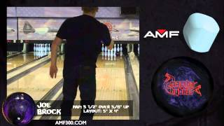 amf300 mamba hybrid bowling ball video