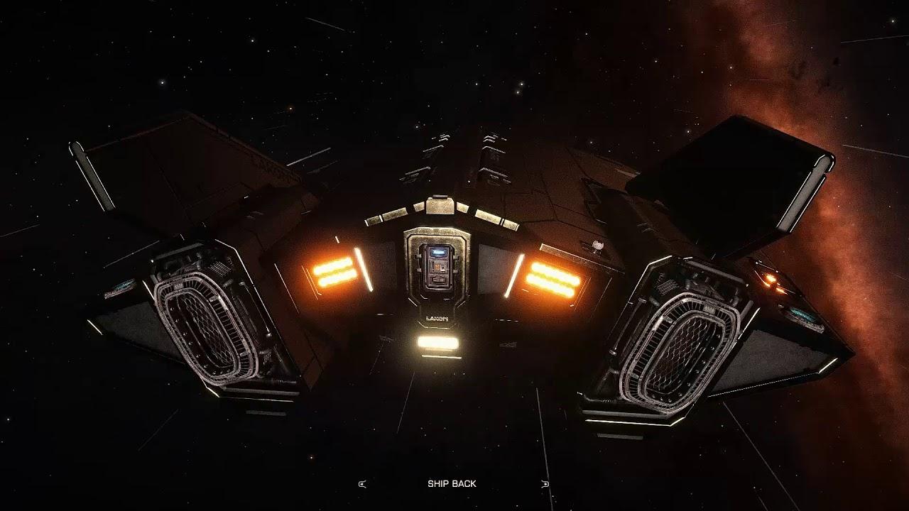 Elite Dangerous: EDFX (with Reshade) - Passenger Run