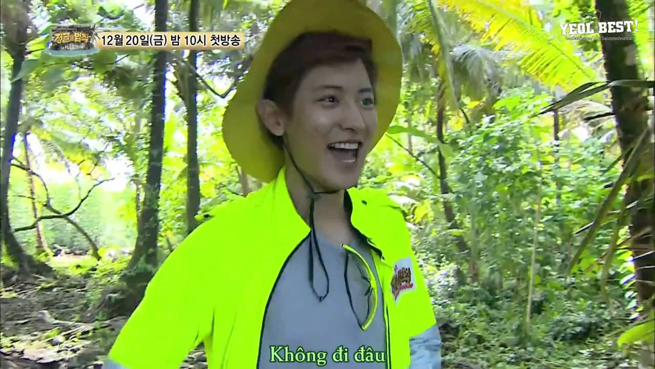 Vietsub 131206 The Law of the Jungle Preview Chanyeol part 1