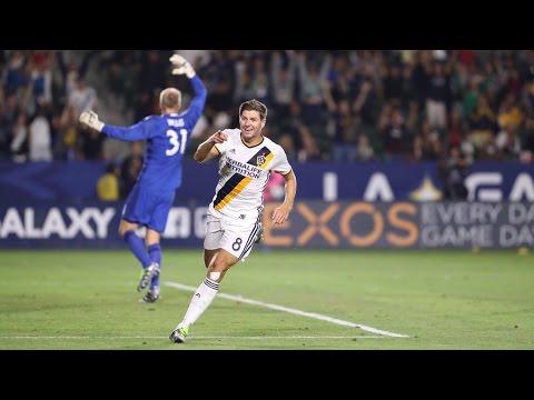 GOAL! Steven Gerrard slots home the game-winning goal