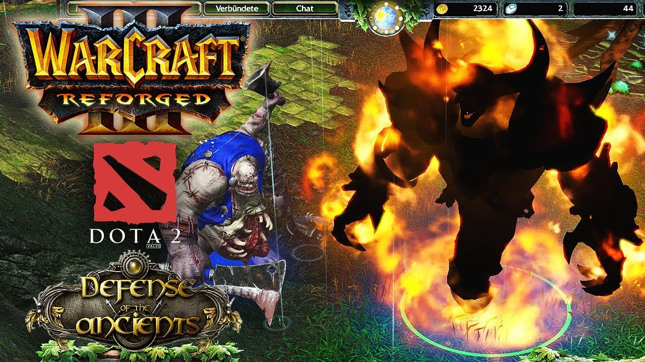 Warcraft 3 Reforged Dota Allstars Map First Look Dota 2 Imported