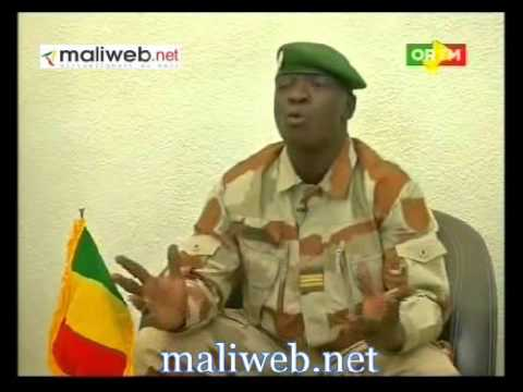 Explication du Capitaine Amadou Haya Sanogo sur la démission de Cheick Modibo Diarraversion Bambara