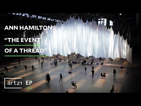 "Exclusive | Ann Hamilton: ""the event of a thread"""