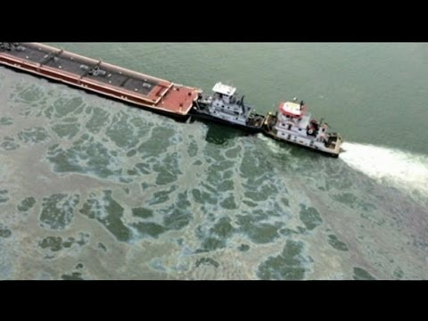 1 Million Gallons of Oil Could Leak from Barge