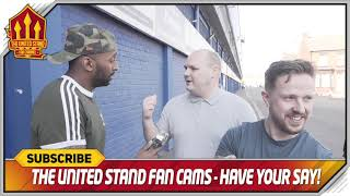 Beaten By Rejects! Everton 4-0 Manchester United 4-0 FanCam
