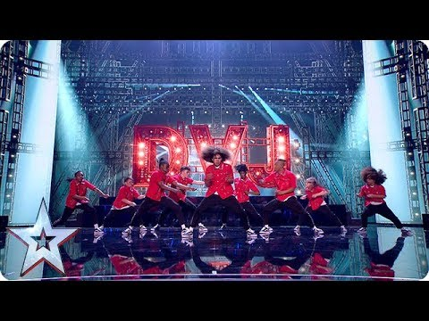 Ready for the next generation of Diversity? DVJ storm the stage! | Semi-Finals | BGT 2018