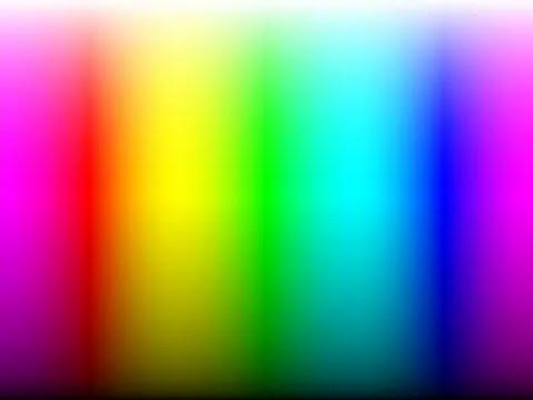 Farbschleife Durch Alle Regenbogenfarben Spektralfarben
