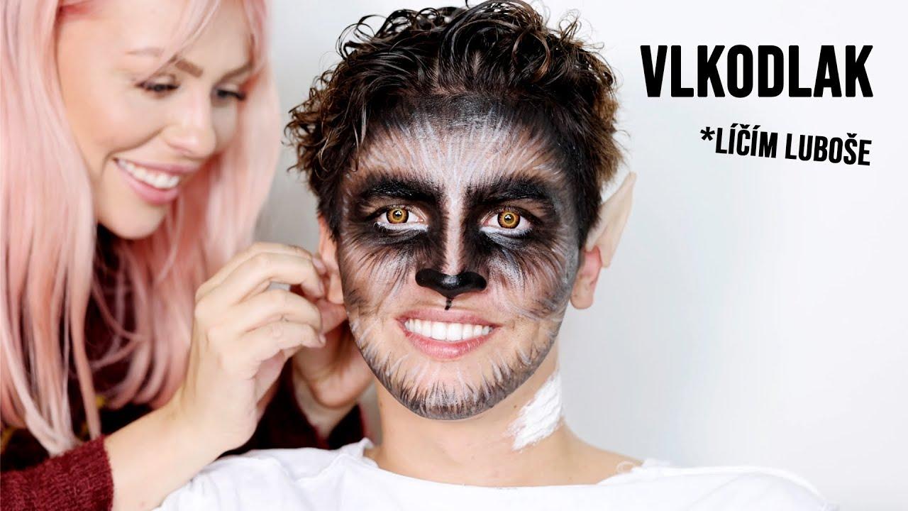 VLKODLAK *líčím Luboše | Halloween s ANY
