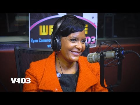 Atlanta's Mayor is Keisha! Keisha Lance Bottoms In V-103 Studio : RCMS