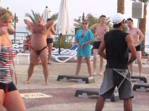 Русский турист отжигает в египте