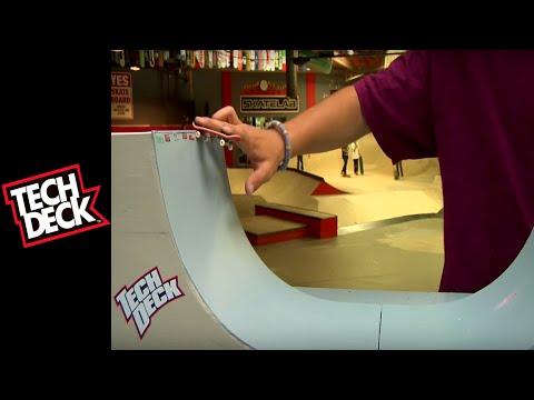 Tech Deck Tutorials: Advanced Vert Tricks