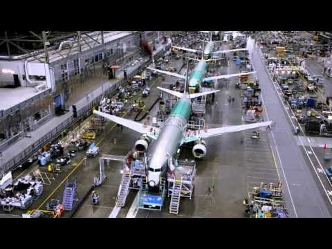 Creation of Boeing 737