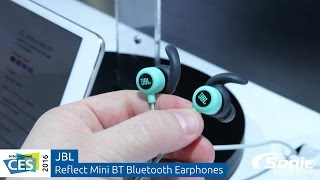jbl reflect mini bt bluetooth sport earphones   ces 2016