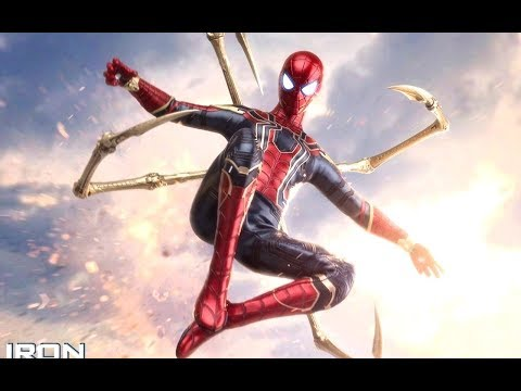 IRON SPIDER HOT TOYS 1/6 AVENGERS INFINITY WAR SPIDER-MAN TOM HOLLAND FIGURE