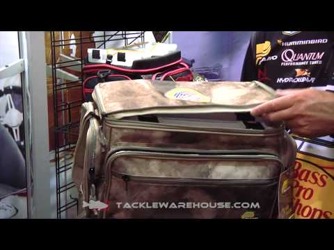 Plano Military Warrior Support Foundation Tackle Bags With KVD | ICAST 2014