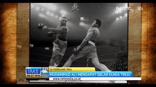 IMS - Today's History kemenangan pertama tinju kelas berat diraih Muhammad Ali