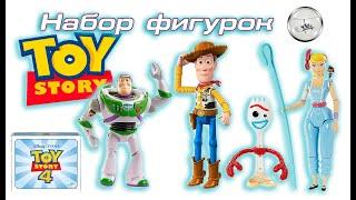 Набір з 5 фігурок Toy Story Історія іграшок 4 Mattel GDP75