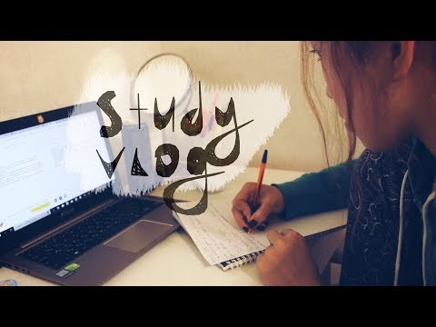 StudyVlog: Проект по английскому, Линзы и Отработка по психологии
