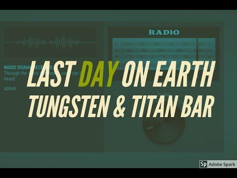 TUNGSTEN AND TITAN BAR LDOE!!