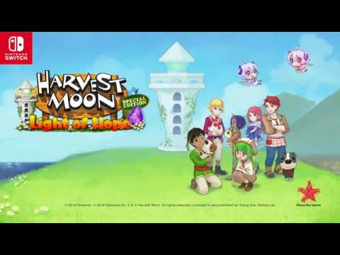Harvest Moon: Light of Hope Special Edition - Europe Launch (Nintendo Switch)