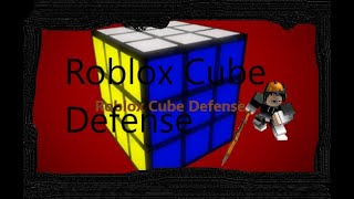 Roblox Cube Defense Shocker Spam!