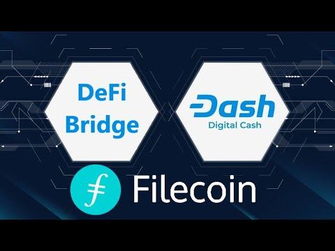 DASH DeFi BRIDGE Launches; Binance 'CeDeFi'; Filecoin Denies 'Mining Crisis'