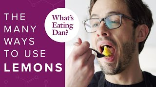Lemons can improve practically anything you cook or bake drink, and dan dives into his favorite ways to use them. get the recipe for lemon olive oil tart:...