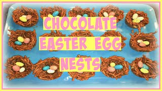 Last Minute Easter Dessert | Chocolate Easter Egg Nests