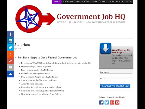How Long Should A Federal Resume BeGovernment Job HQ