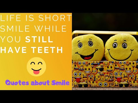   6   - Best Short Quotes about Smile!! - YouTube