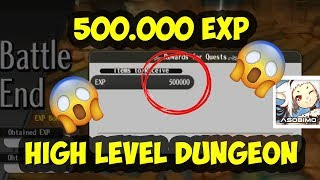 500.000 EXP!! Solo Bottomless Coalmine Alchemia Story Dungeon Guide and Tips